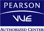 PEARSON / VUE Authorized Center Logo